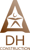DH Construction Logo